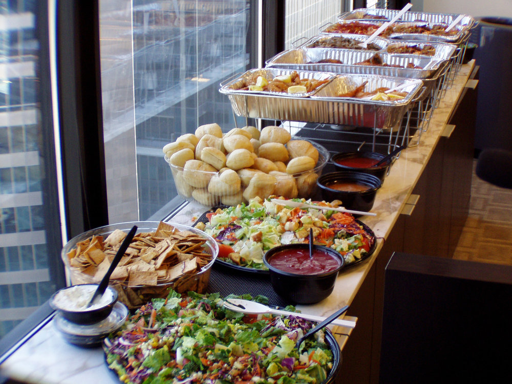 Delivery Buffet Menu -