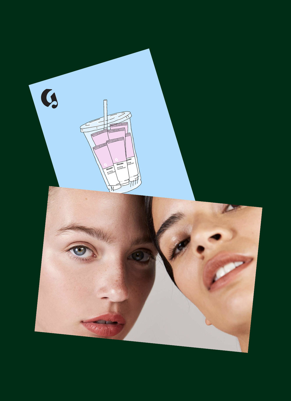 Glossier - posters, illustration