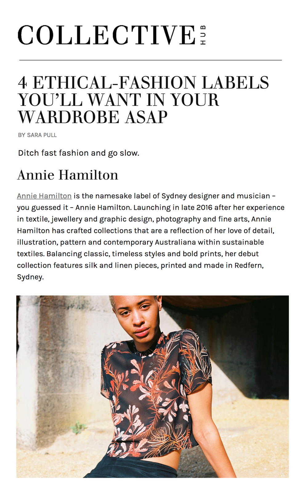 collectivehub anniehamilton