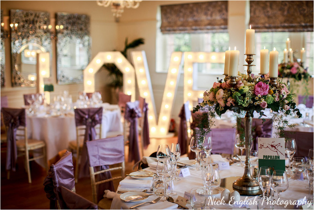 Wedding Breakfast Room Eaves Hall