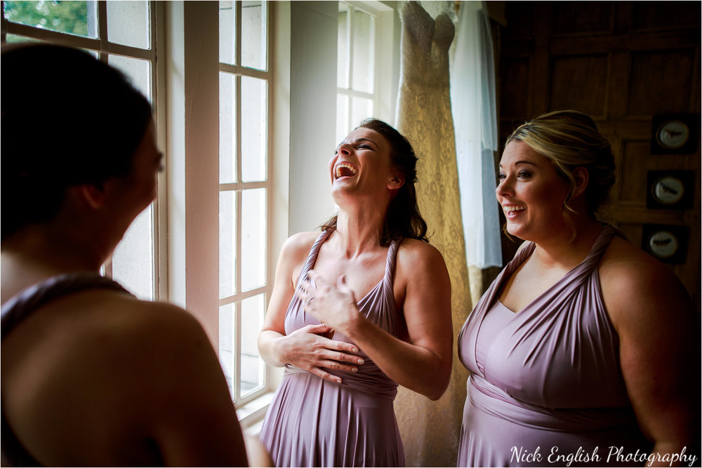 Bridesmaids at  The Lodge, Eaves Hall