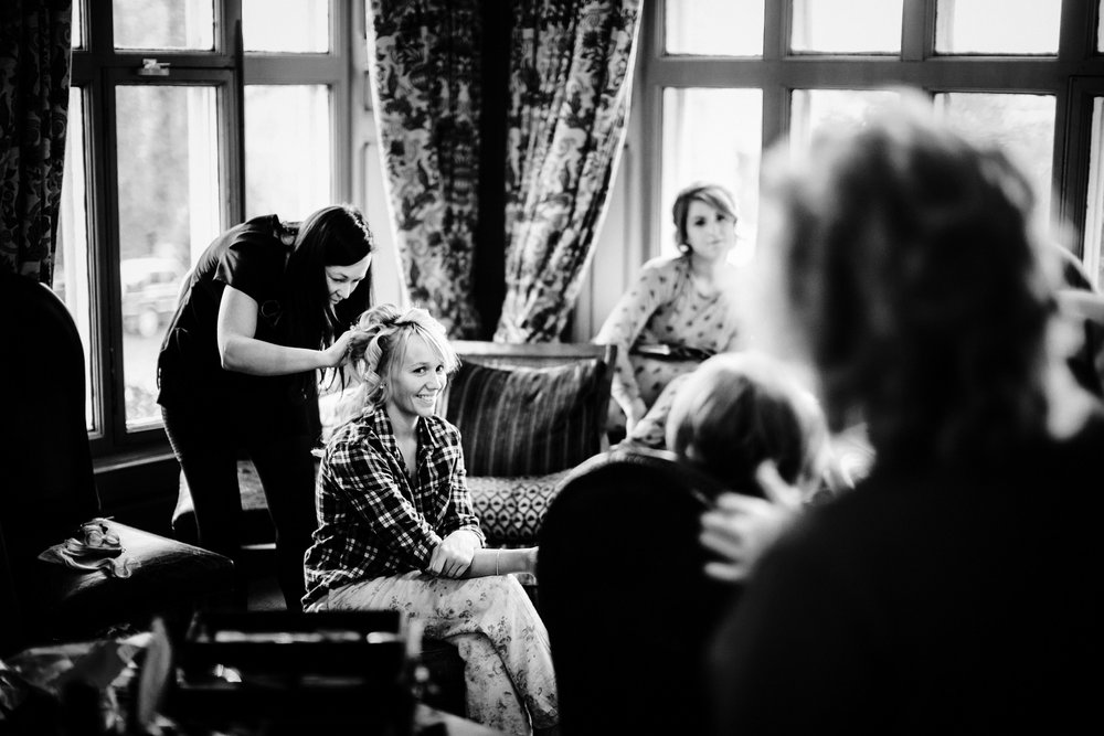 Mitton Hall Dressing Room Bridal Preparations