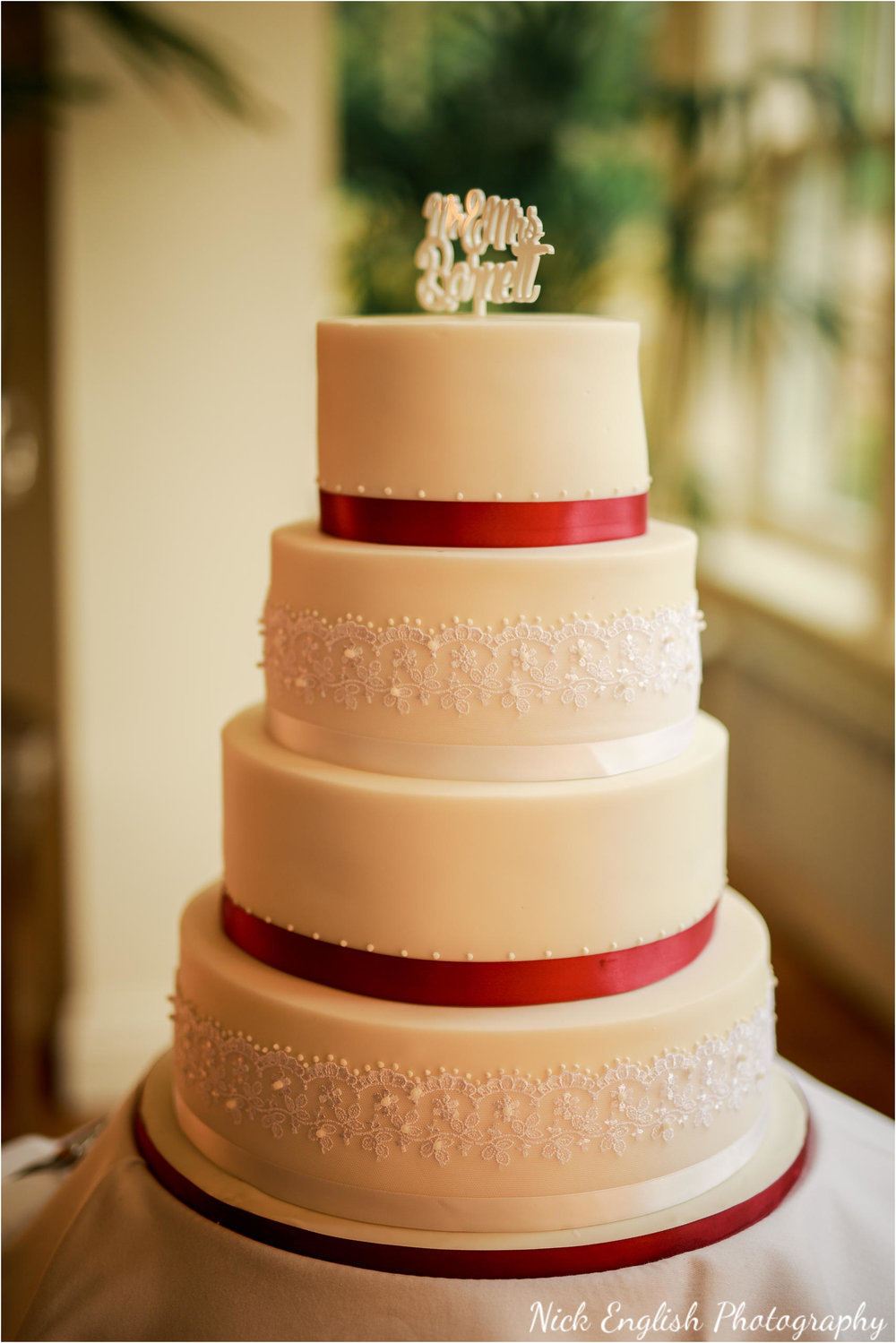 Mitton Hall Wedding Cake