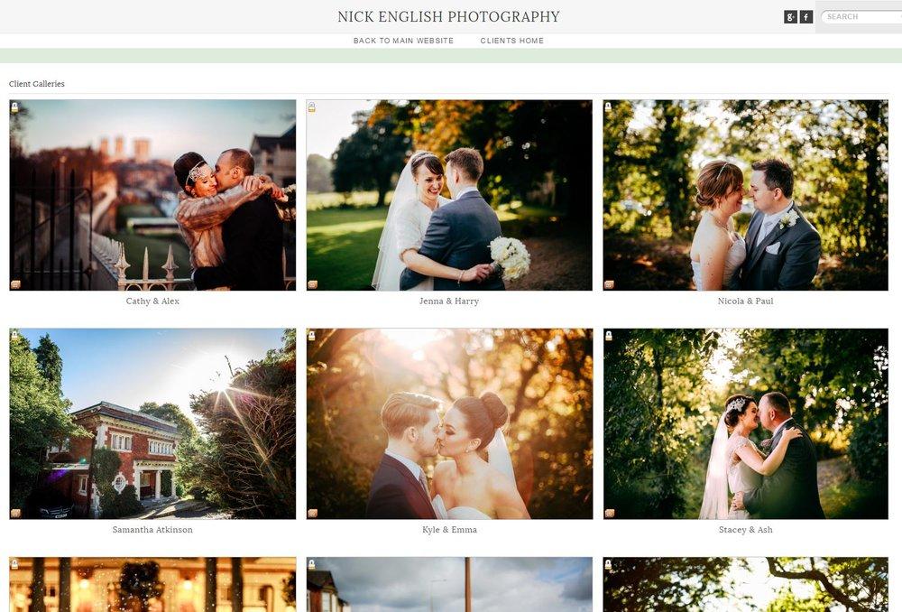 Nick English Photography - Lancashire Wedding Photographer