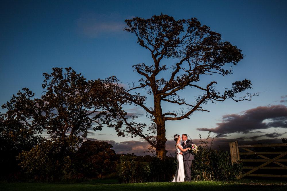 Stanley House Wedding Photography Bride Groom Sunset.jpg