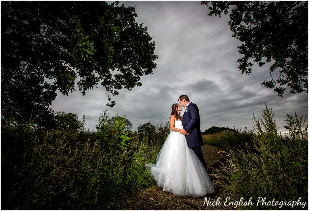 Stanley House Wedding Photography Bride Groom Lancashire Kissing