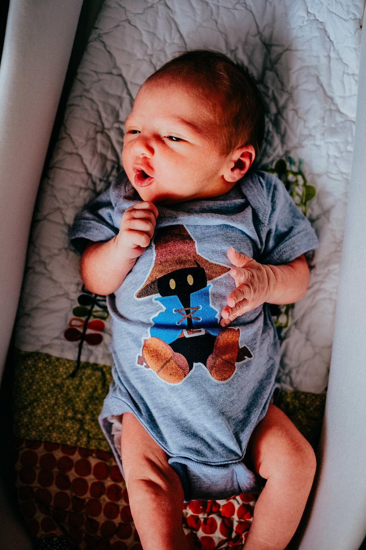 Baby Zack English in Final Fantasy VIII 8 Vivi Sleepsuit