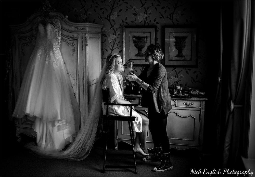 Black White Bridal Prep