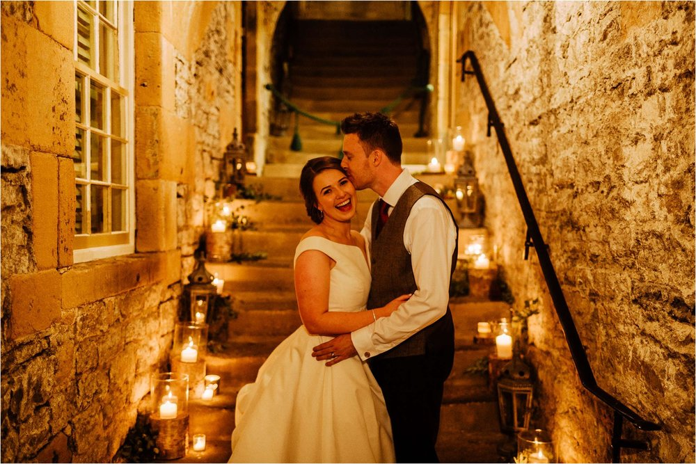 Hassop Hall Wedding Photograph