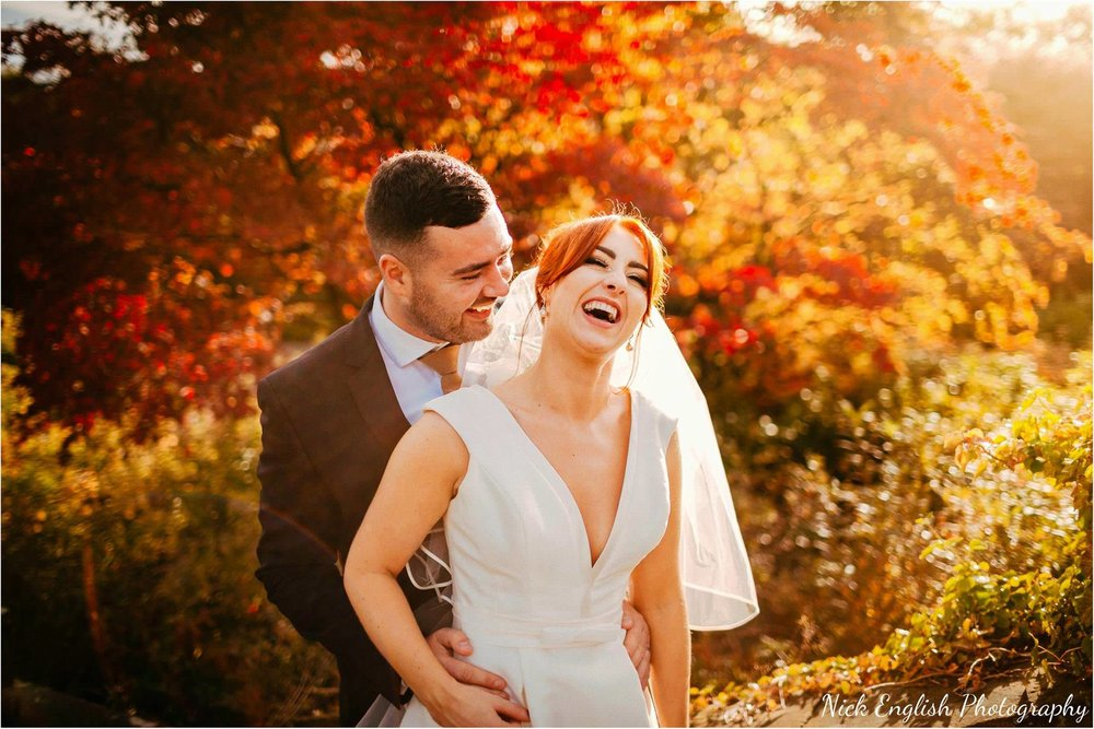 Eaves Hall Summer Wedding Photographer