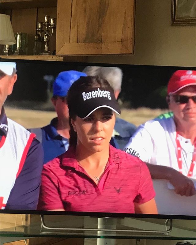 This definitely made my year as a golf fan! A new super star is born, watch out golfing world! Couldn't be happier for @georgiahall23 . You have it all girl💪💪Major Champion🏆@LET @lpga_tour #goeurope #c'mon