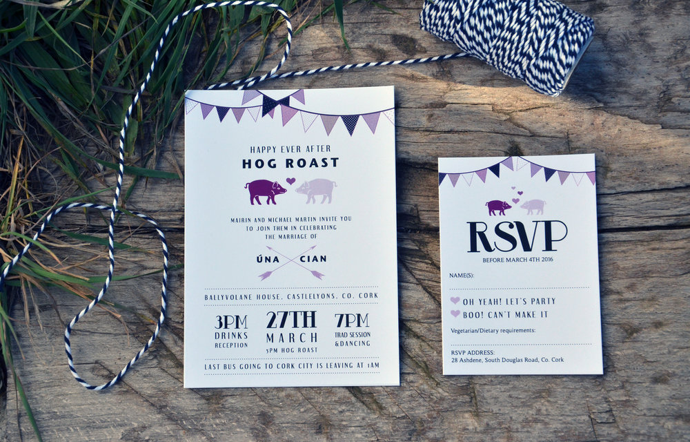 wedding bunting animal invitation suite.jpg