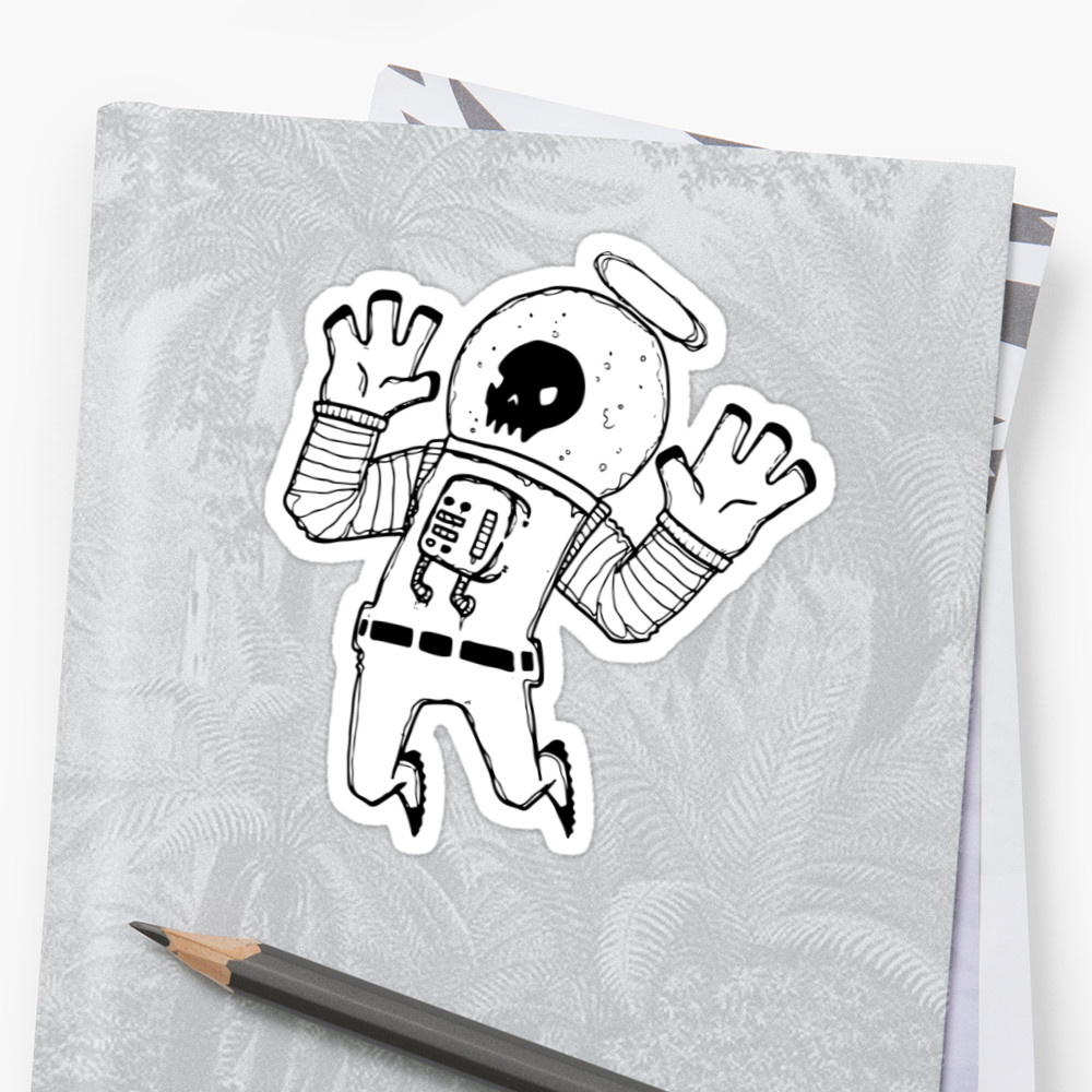 Lost In Space Sticker - More Sizes Available