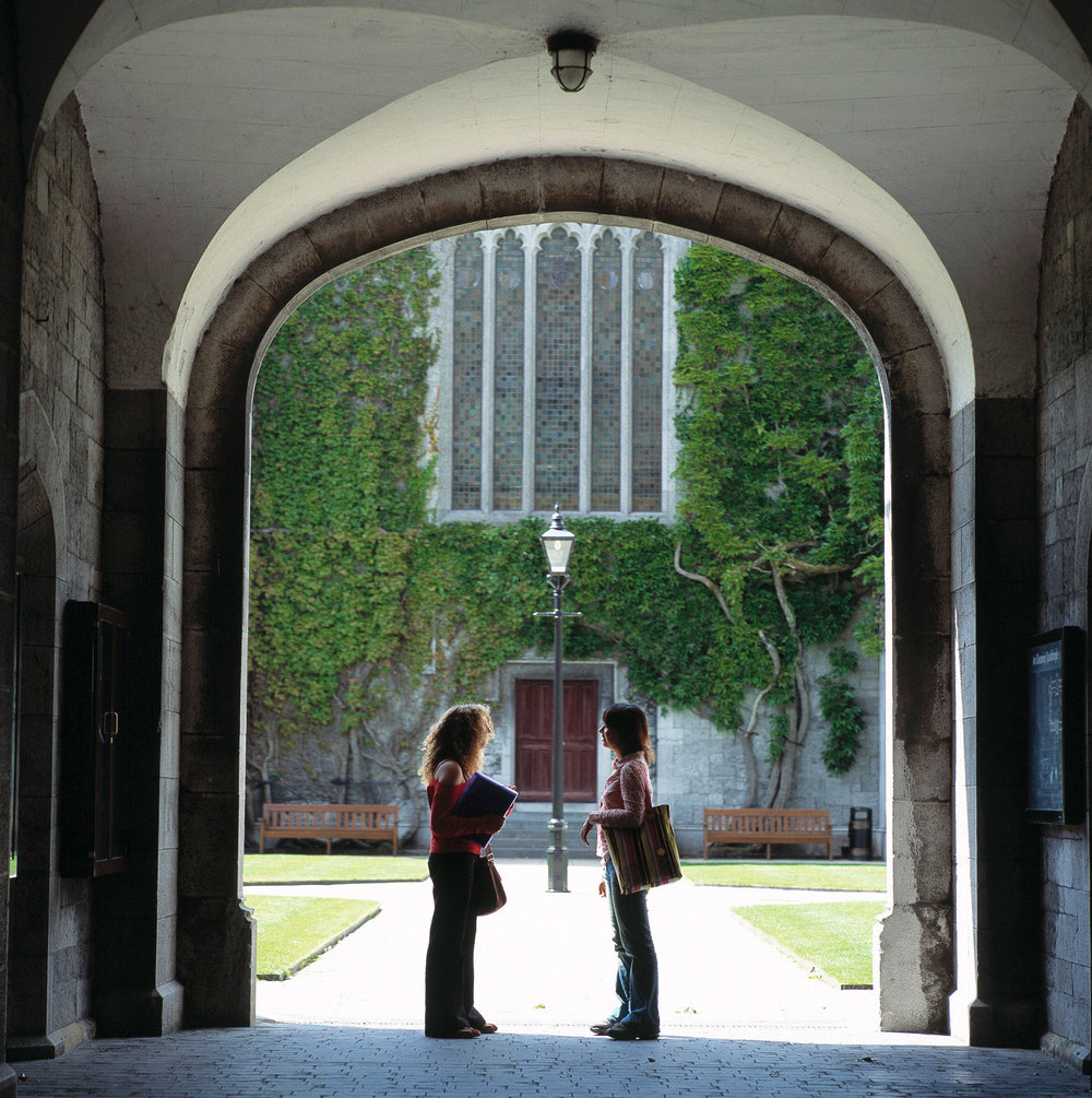 Bailey Allen Hall Arch