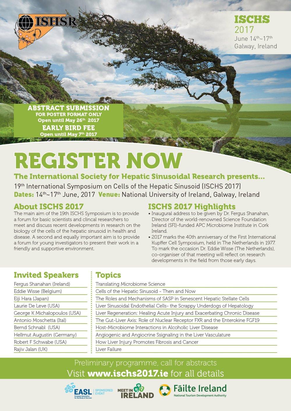 ISCHS 2017 Conference Flyer