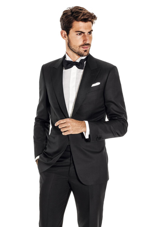 Custom wedding event wear hall madden black tux junglespirit Choice Image