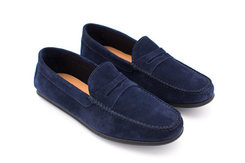 801a9361802 Driving Shoe Moccasin Penny Loafer — Hall Madden