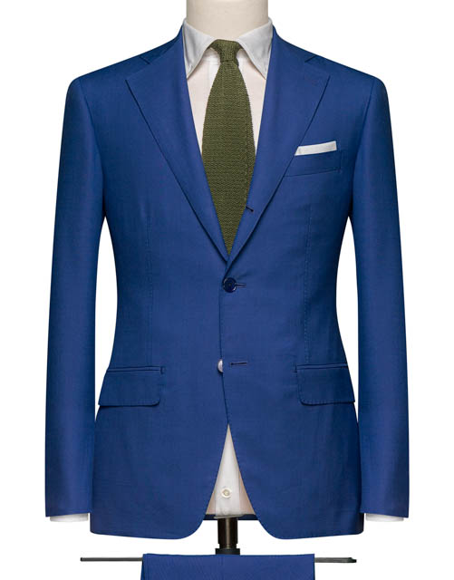 Blue Indigo Suit