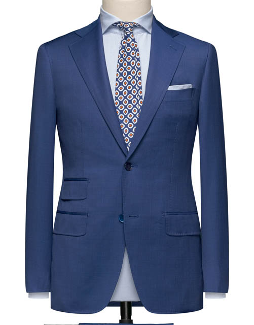Blue Ticket Pocket Suit