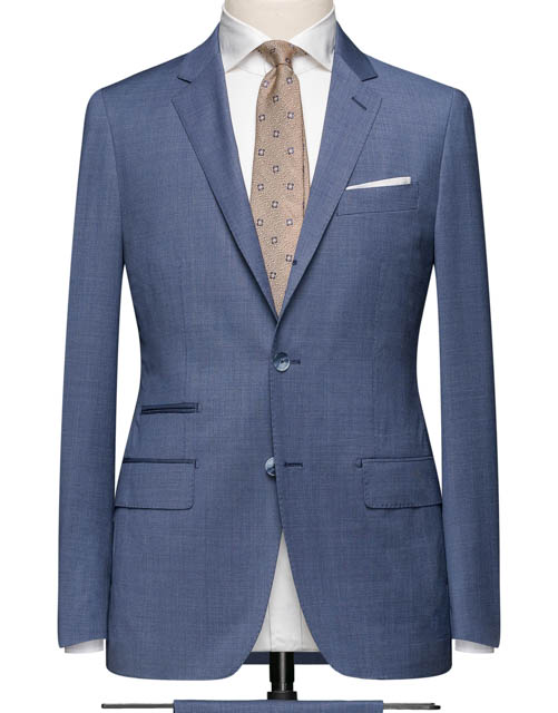 Medium Light Blue Suit