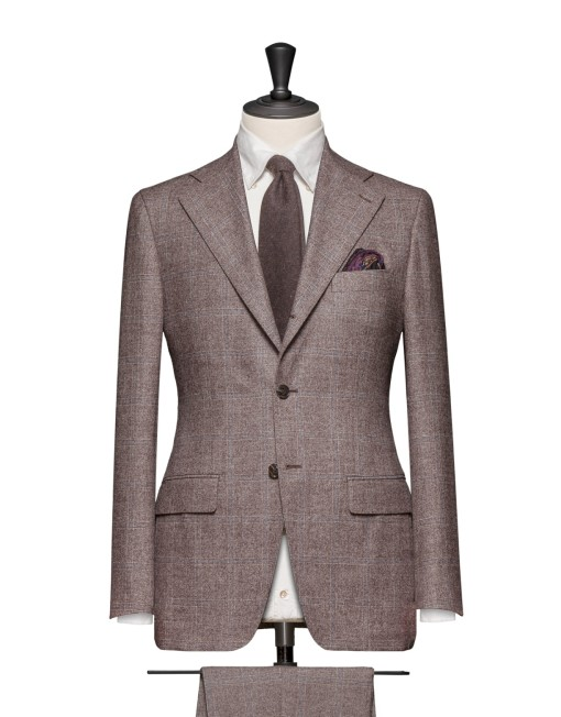 Men's Burgundy Suit