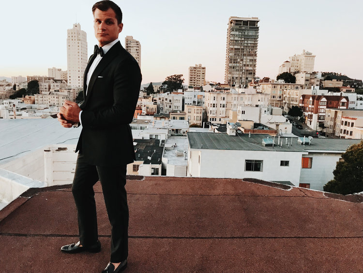 How to Style Your Tuxedo - San Francisco fit specialist Andrew Miltiades breaks down his thoughts on black-tie styling for the non-traditionalist.