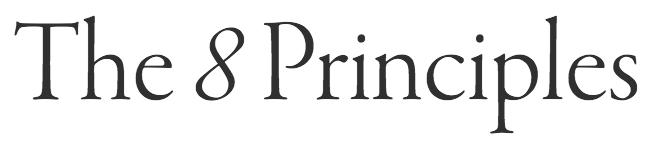 The 8 Principles