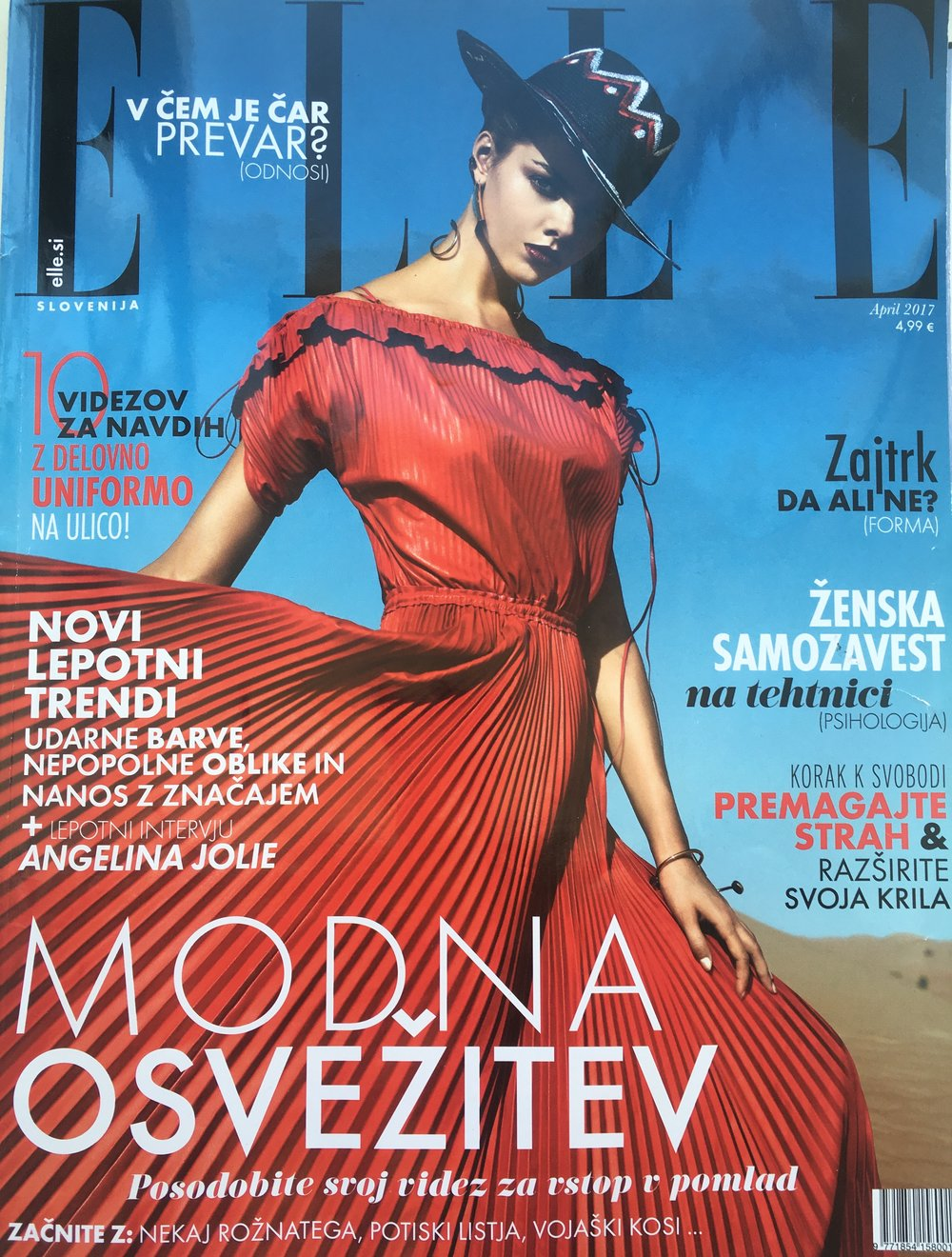 - Elle SloveniaApril 2017