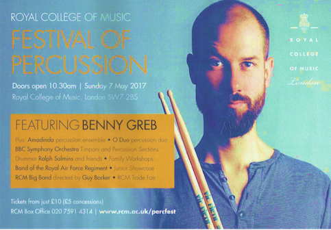 Royal College of Music - Festival of Percussion