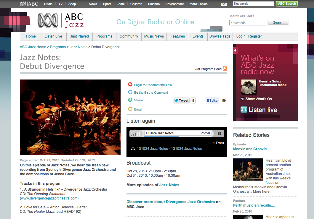ABC jazz _screen shot