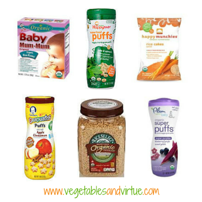 rice products for babies