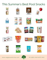 pool snacks grocery guide