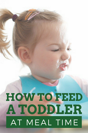 A dietitian-mom's tips for how to handle toddlers at the table.
