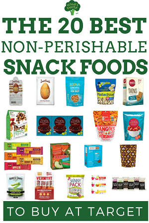 Non perishable snacks