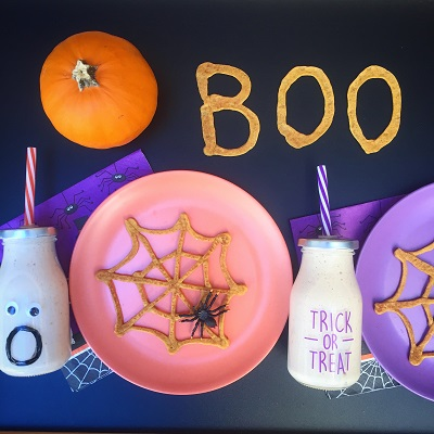 Halloween Boo Breakfast Menu Idea
