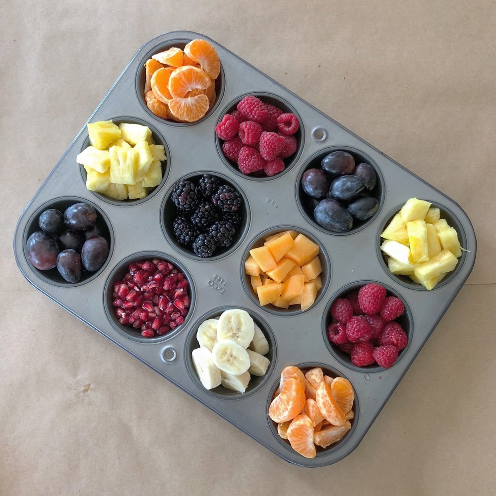 Create your own turkey muffin tin