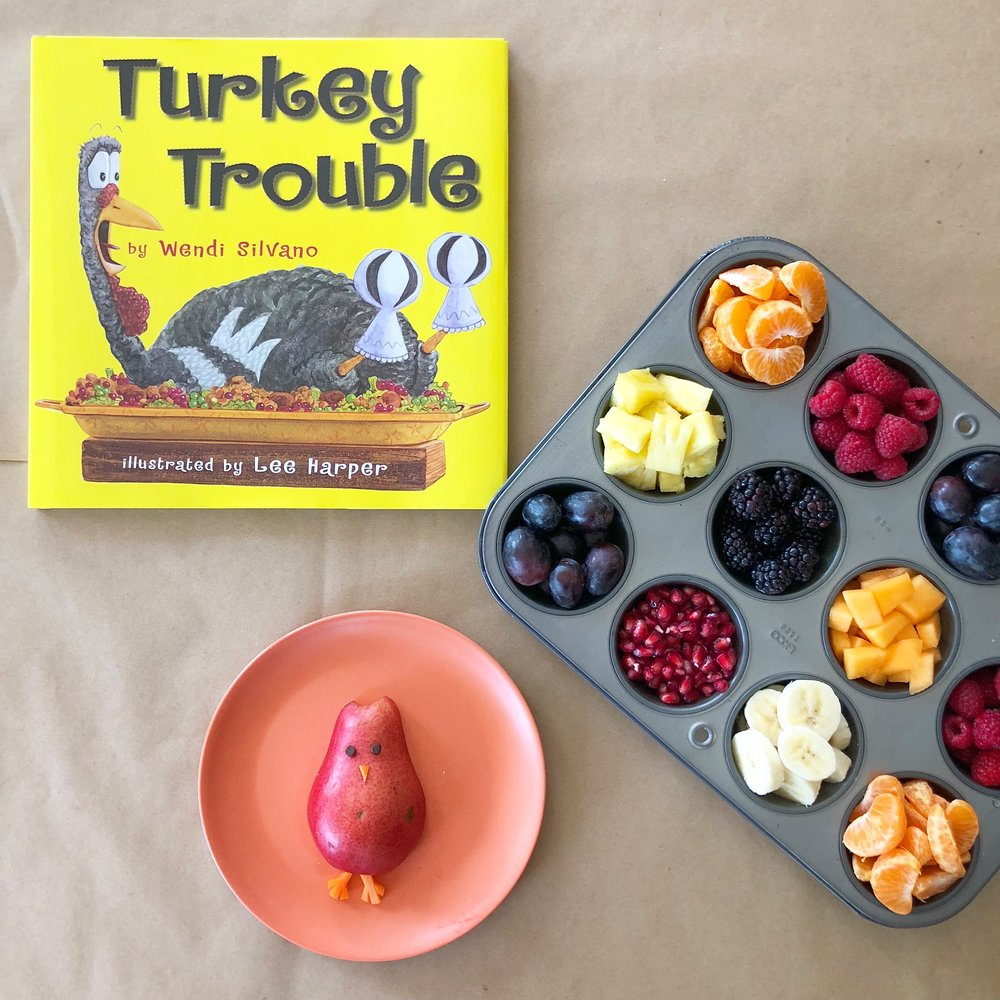 Create Your Own Turkey Muffin Tin Snacktivity