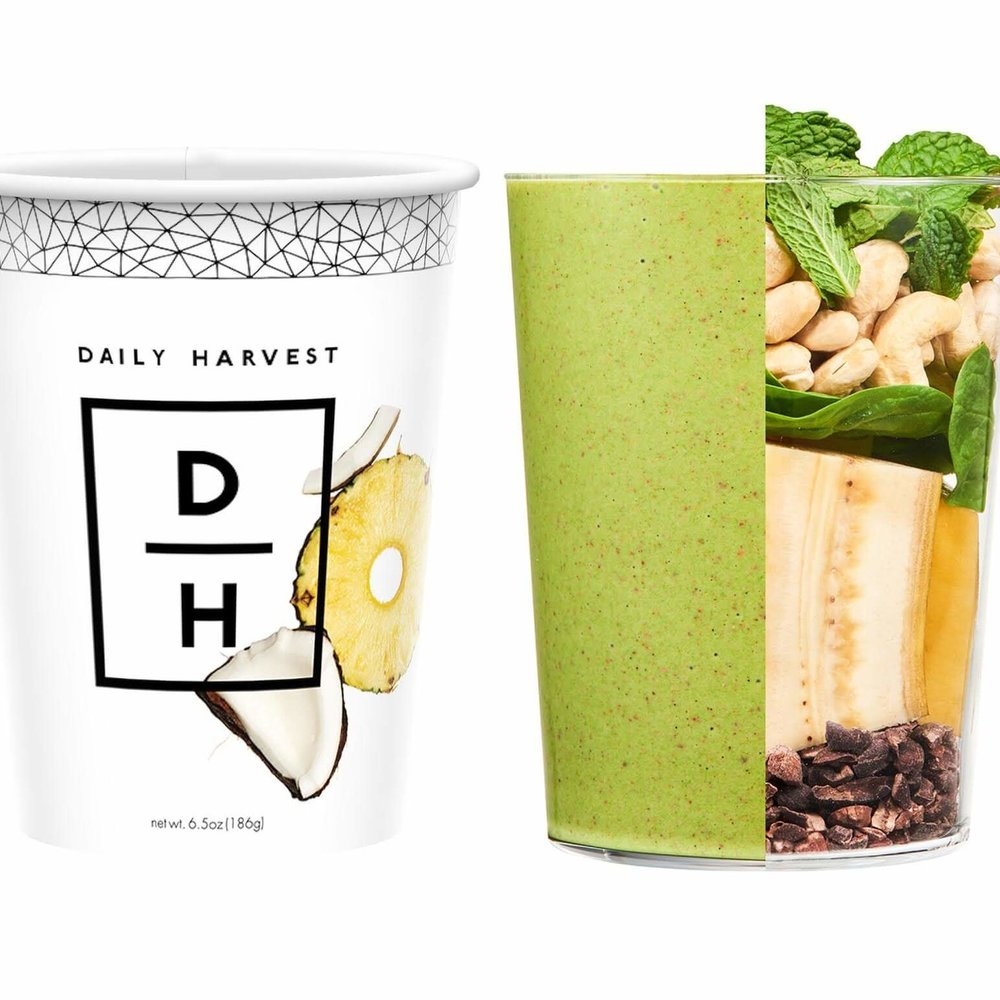 Use VEGGIESANDVIRTUE for 3 free cups at dailyharvest.com