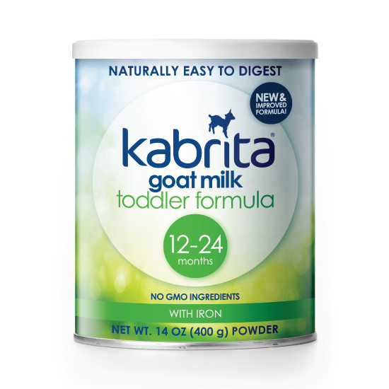 Get a free trial of the toddler formula at kabritausa.com