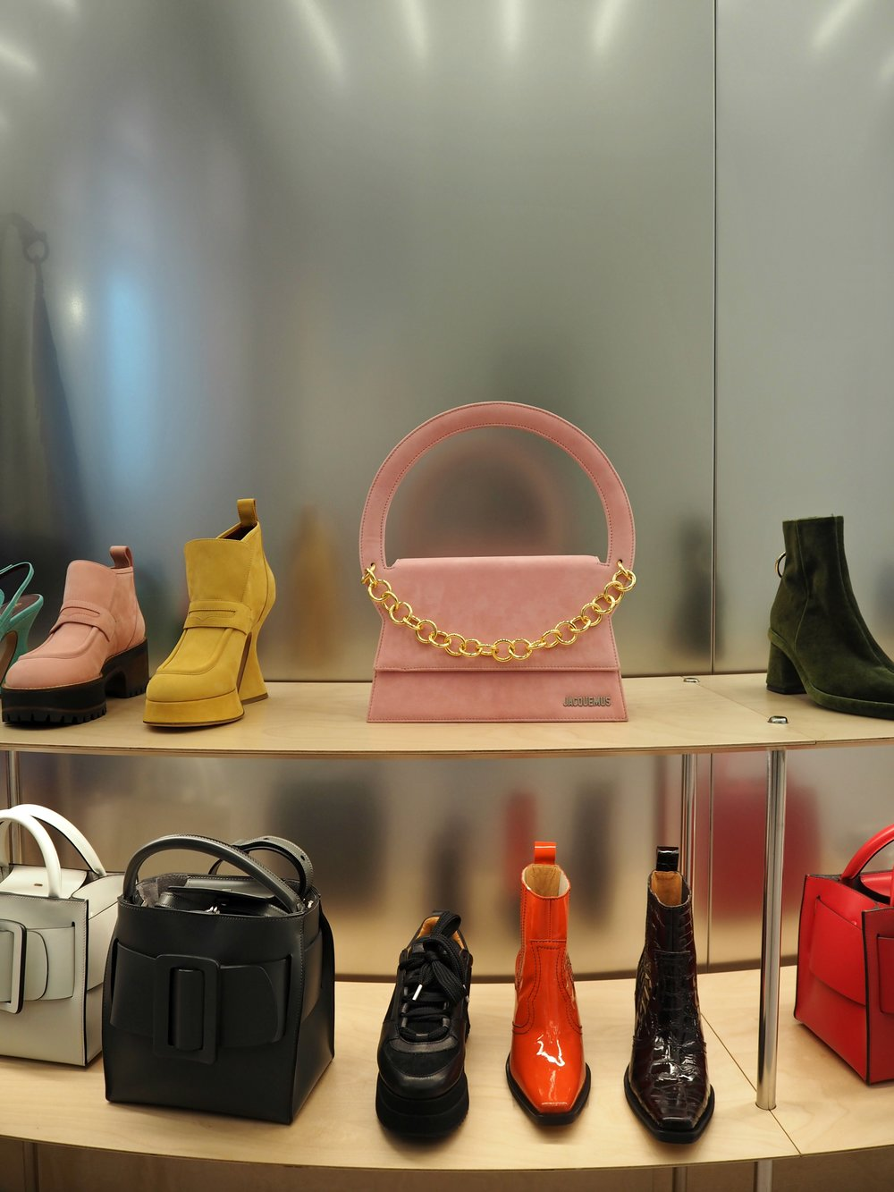 The accessories department is a fashion mecca in its own right