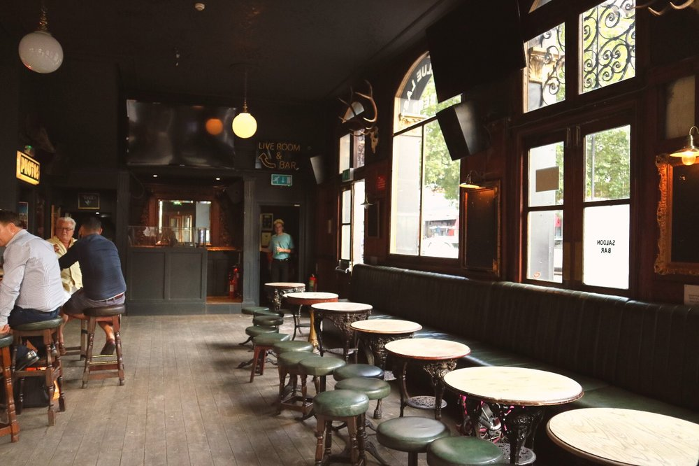 A traditional east London boozer with a 21st century twist.