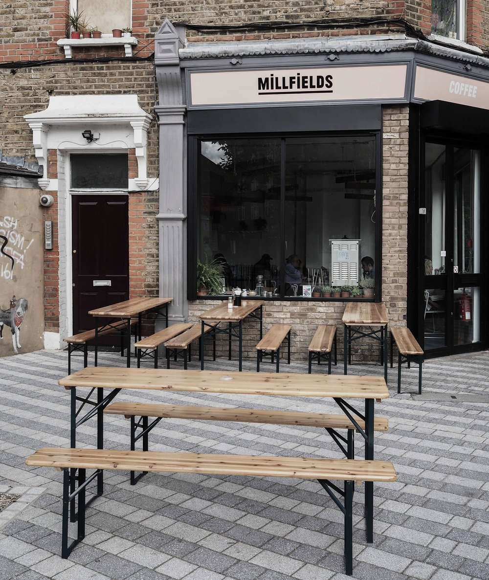 Millfields is the perfect spot for a catch-up with friends over coffee I Photo by Julia