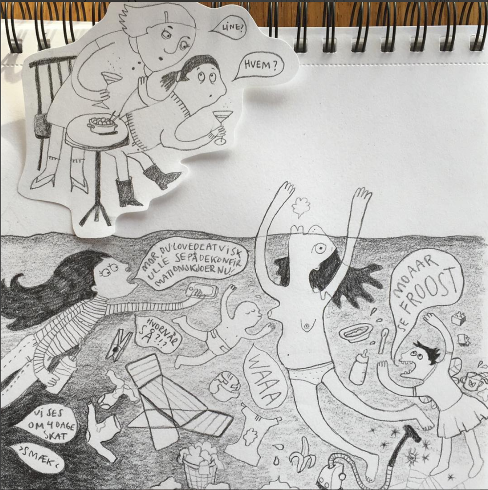 Det hele startede med denne her lille tegning for næsten præcis et år siden.