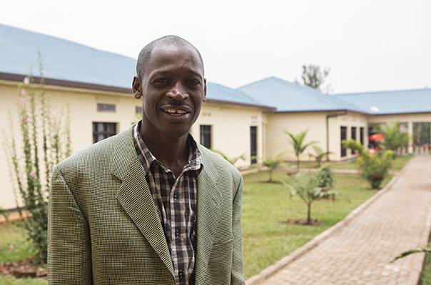 Peter Niyigena Community health director