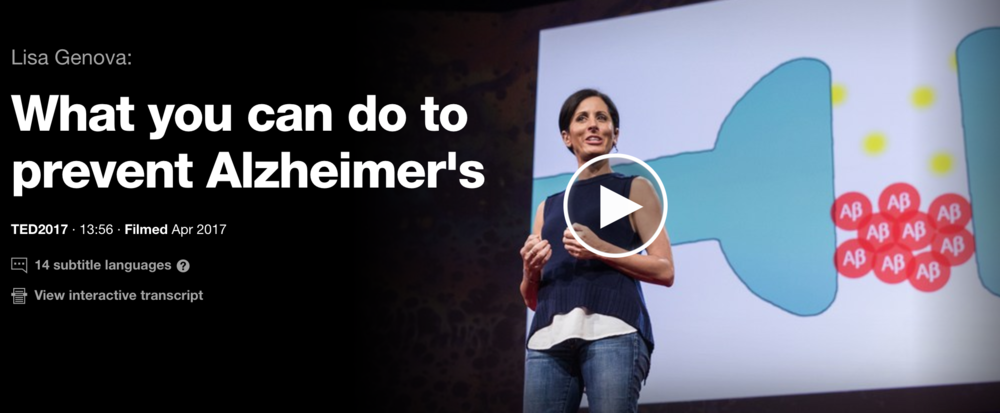 What you can do to prevent Alzheimer's