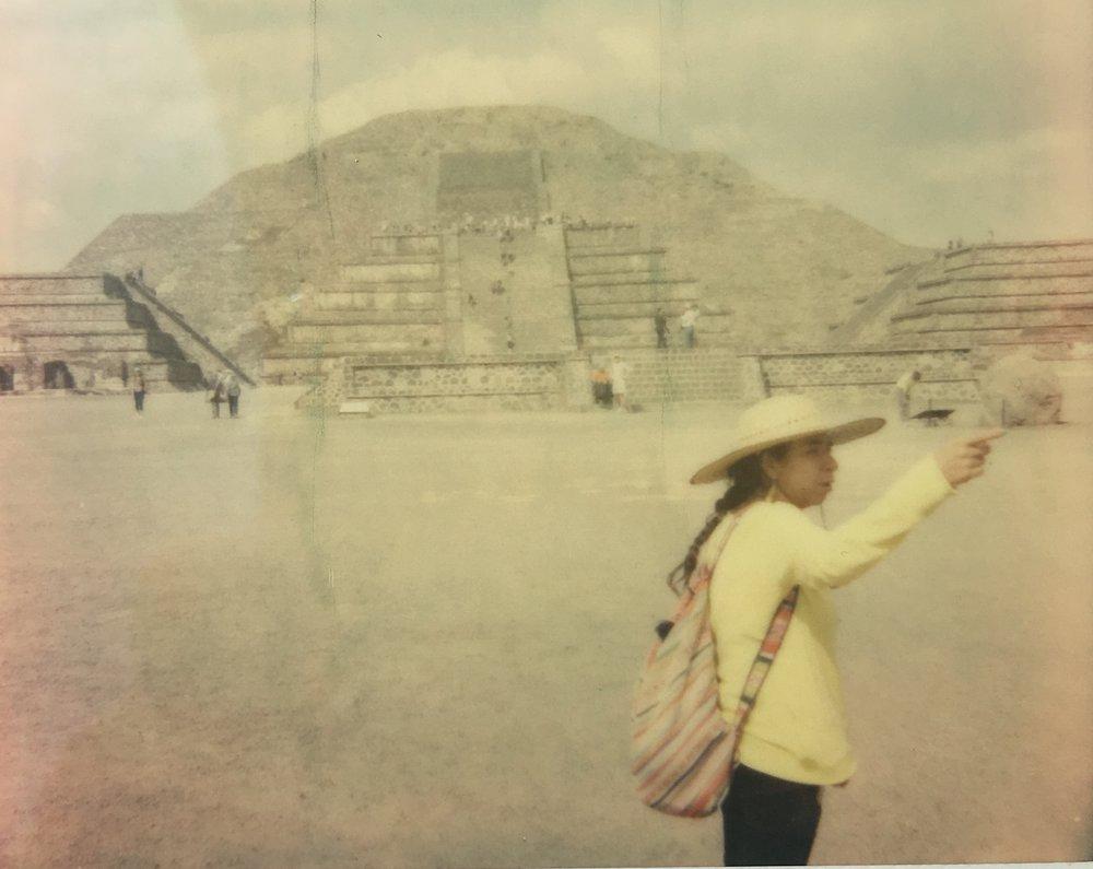 Teotihuacàn, Mexico, February 2018