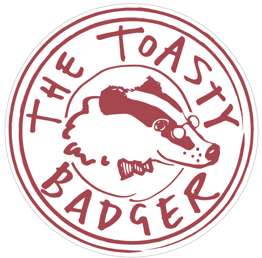 The Toasty Badger: Pop-up cheese toastie van. Catering festivals and events.