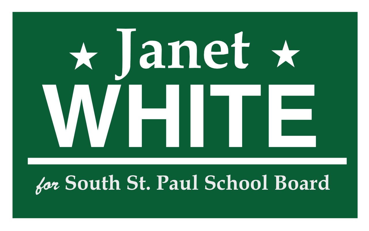 Janet White for South St. Paul Schools