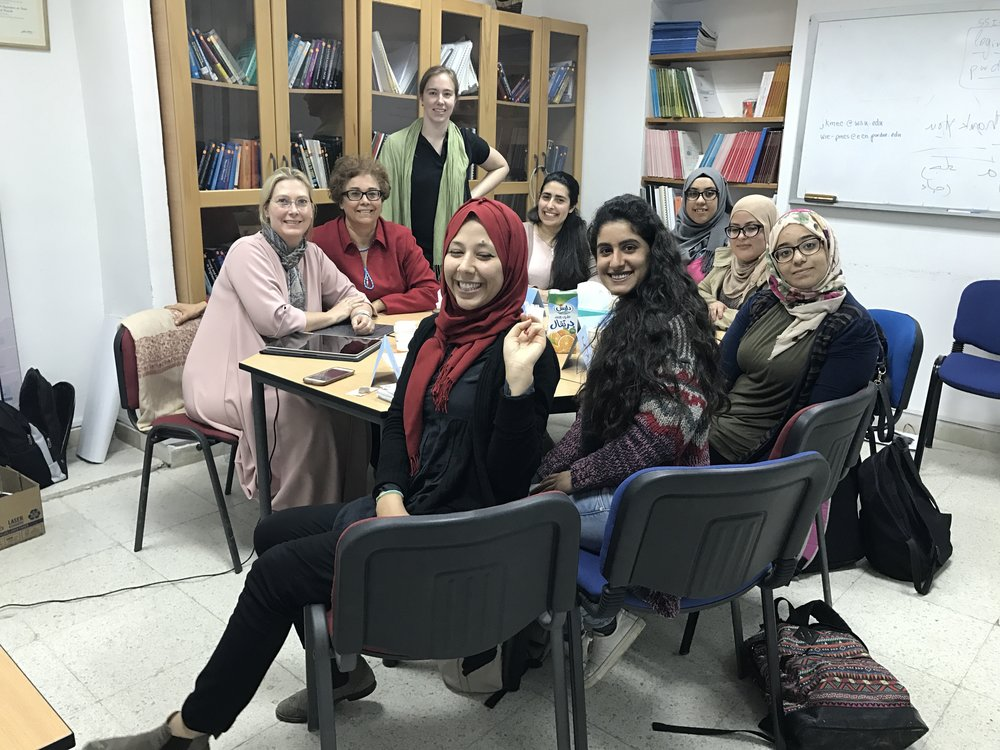 Focus group with undergraduate students at ENIT, in Tunisia
