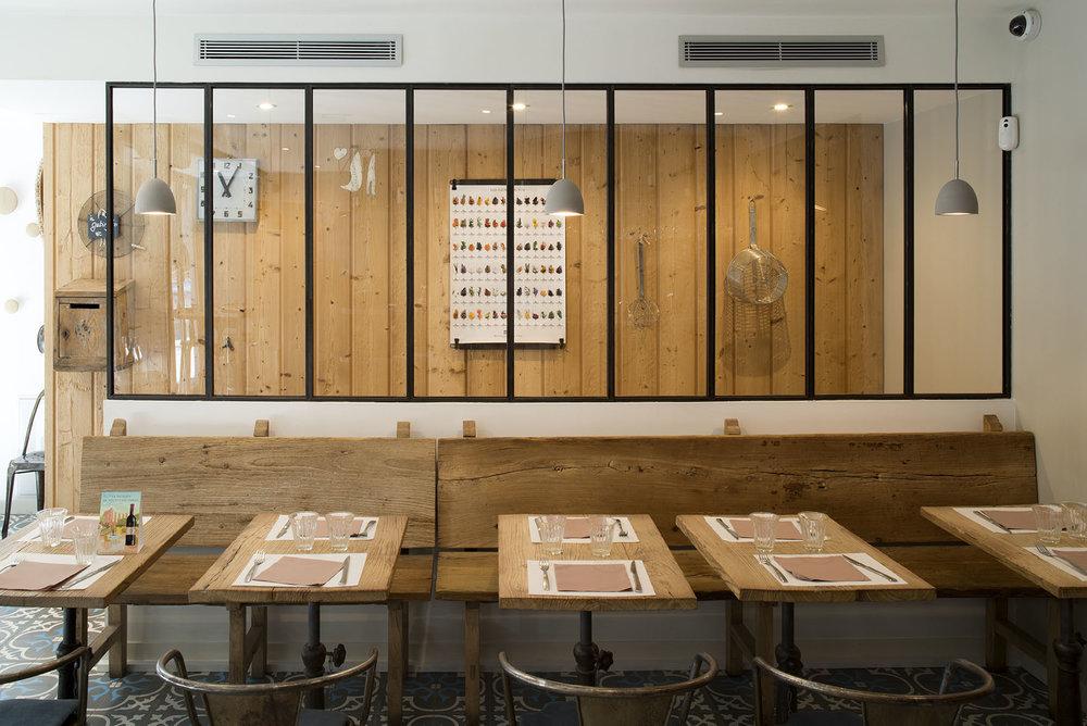 Aménagement du restaurant Pino à Troyes